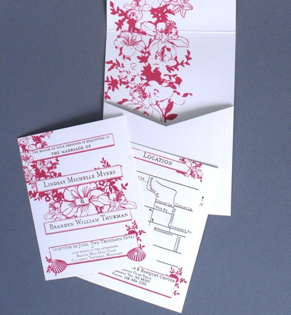 Wedding Invitation by Ryan Myers