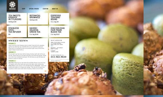 amai tea bake house coffee website 30 Sitios web sobre café para inspirarte