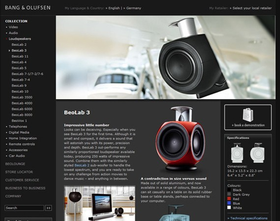 Seltars soup everything web at first glimpse it seems a bit less appealing audio video manufacturer bang olufsen opts for a harder more architectural aesthetic than some of the fandeluxe Images