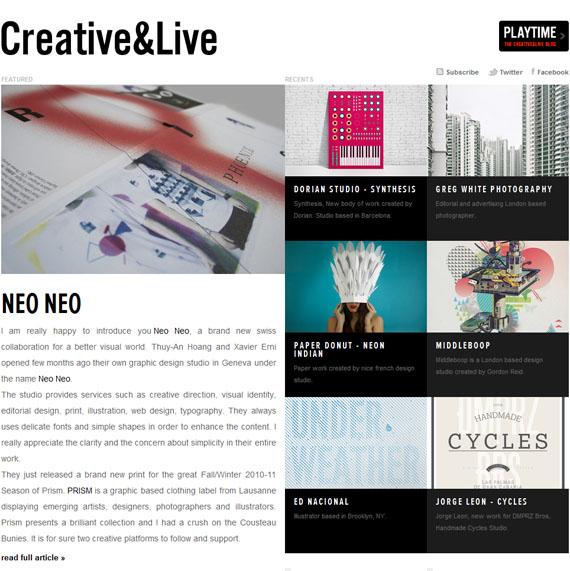 Creativeandlive