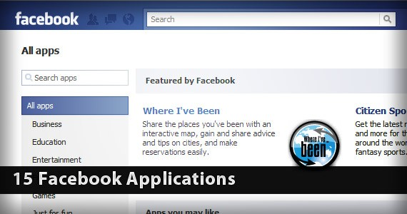 15 Entertaining and Useful Facebook Applications