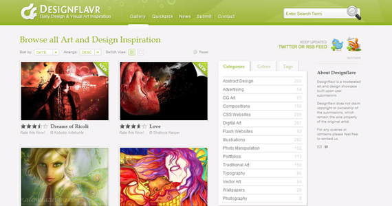 Designflavr-sites-gain-inspiration