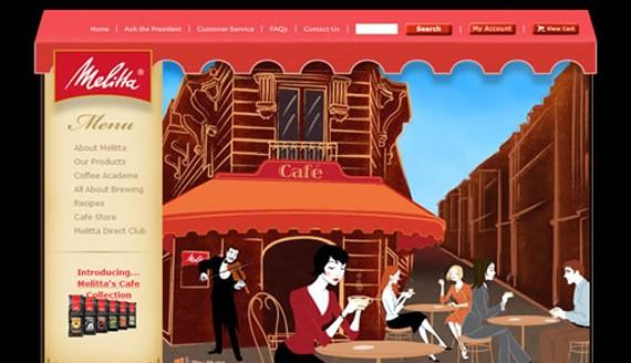 melitta coffee website 30 Sitios web sobre café para inspirarte