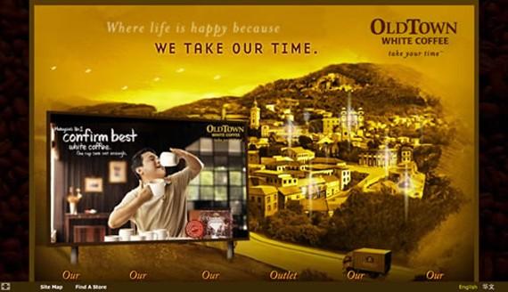 old town coffee website 30 Sitios web sobre café para inspirarte