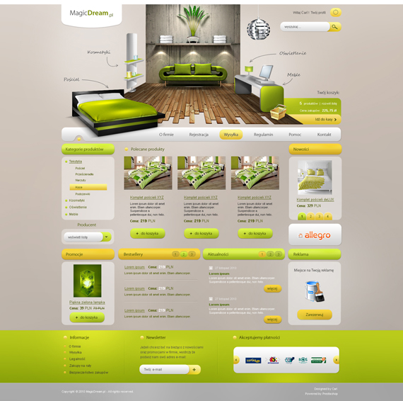 35 Awesome Deviantart Web Designs Created In November 2010
