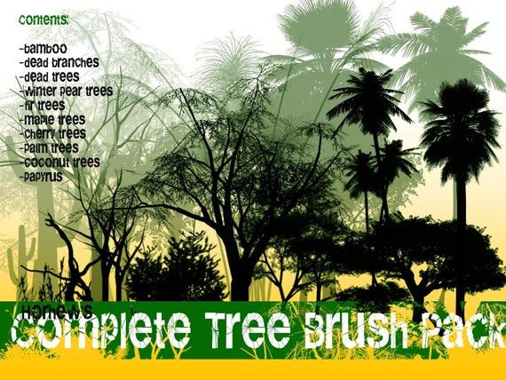 Complete_Tree_Brush_Pack_by_Horhew