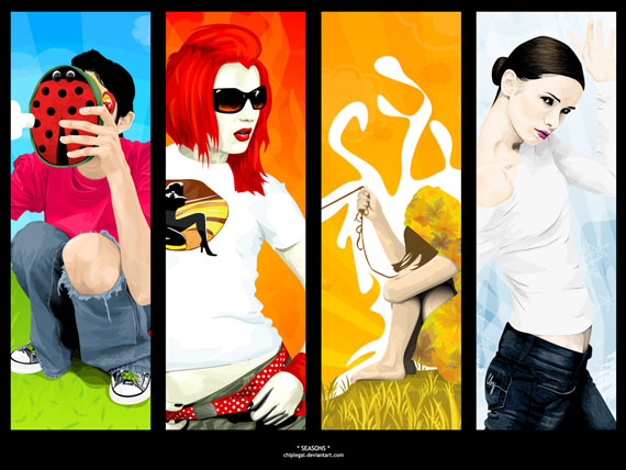 60 Must See Creative Vector Wallpapers on DeviantArt