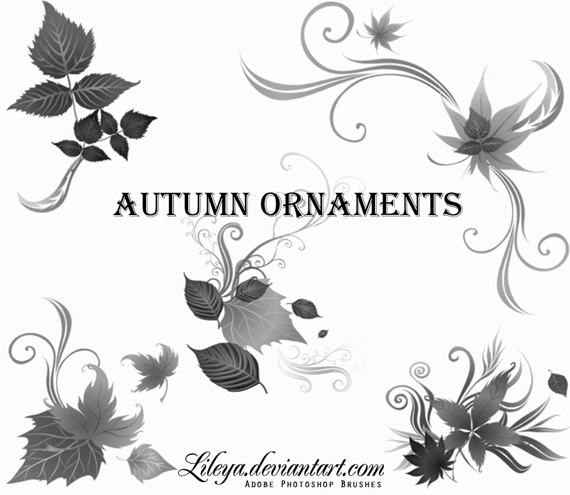 Autumn_ornaments_by_lileya-d32d6qe