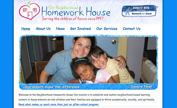 Neighborhood homework house