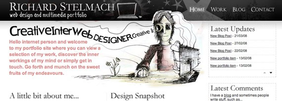 60 Mind Blowing Hand Drawn Website Designs For Your Inspiration