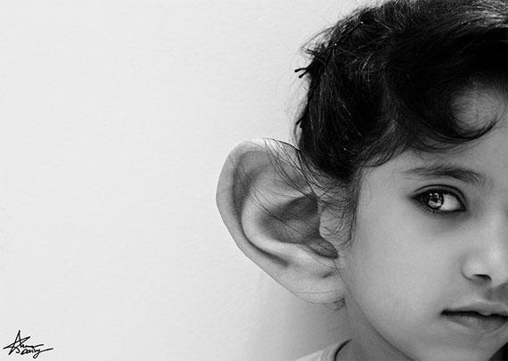 Listen attentively