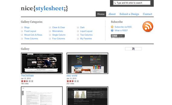 Nice stylesheet
