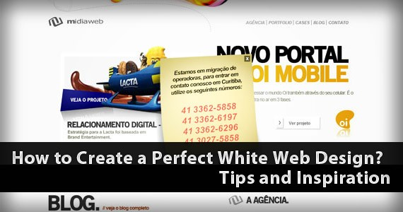 How to Create a Perfect White Web Design? Tips and Inspiration