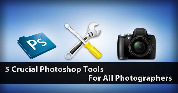 5 Crucial Photoshop Tools For All Photographers