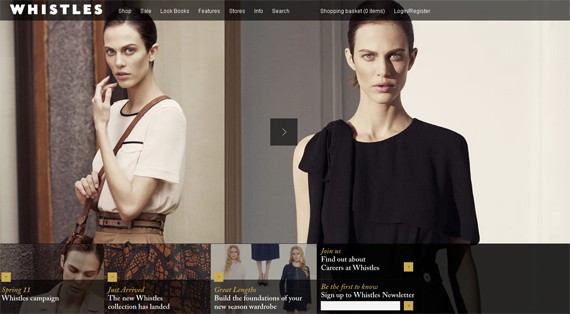 When High Fashion Invades The Web: 50 EPIC Fashionable Websites