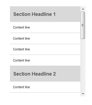 Sticky-section-headers-jquery-navigation-menu-plugins