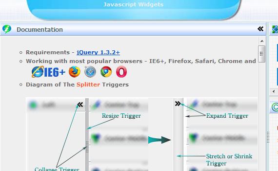 Wzsplitter-jquery-navigation-menu-plugins