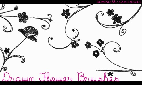 15_drawn_flower_brushes