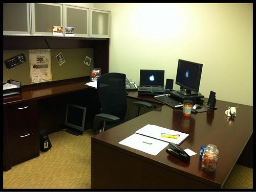 Work mode environment, circa 10.01.2010