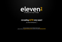 new eleven2.com coming at us...