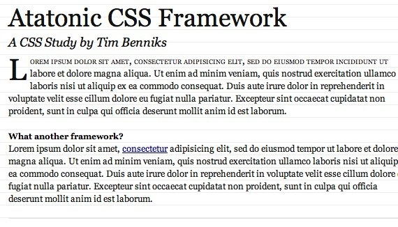 Atatonic CSS framework — Demo.jpg