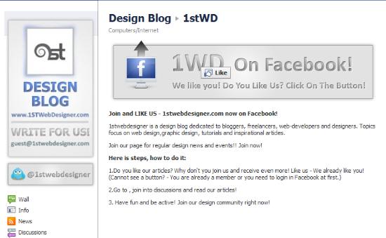 Custom Landing Page Facebook