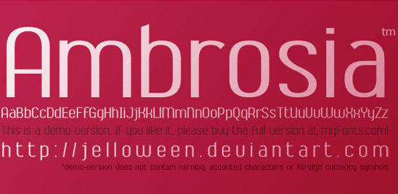 ambrosia-free-high-quality-font-web-design