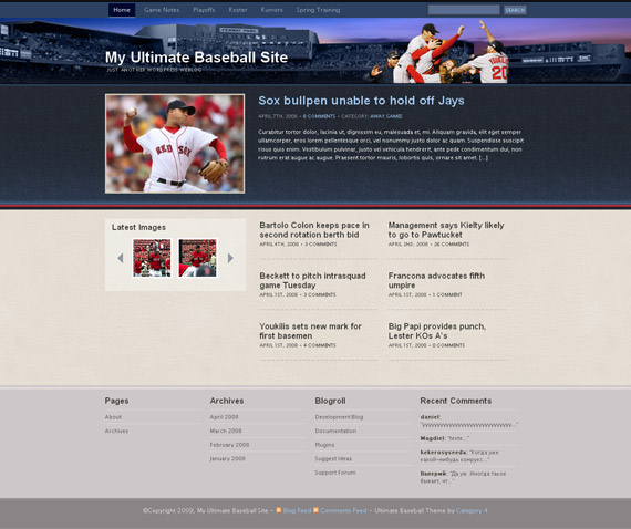 baseball-magazine-free-wordpress-theme-for-download