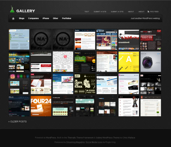 Free Photo Galleries Css gallery free portfolio