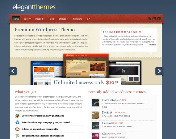 Elegantthemes-commercial-wordpress-portfolio-showcase-theme