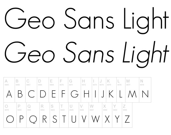 Geo Sans Light Free High Quality Font Web