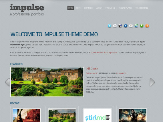Impulse-commercial-wordpress-portfolio-showcase-theme