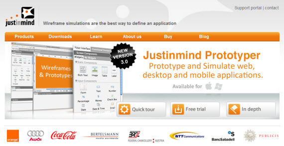 Justinmind-free-premium-wireframing-webdesign-tools