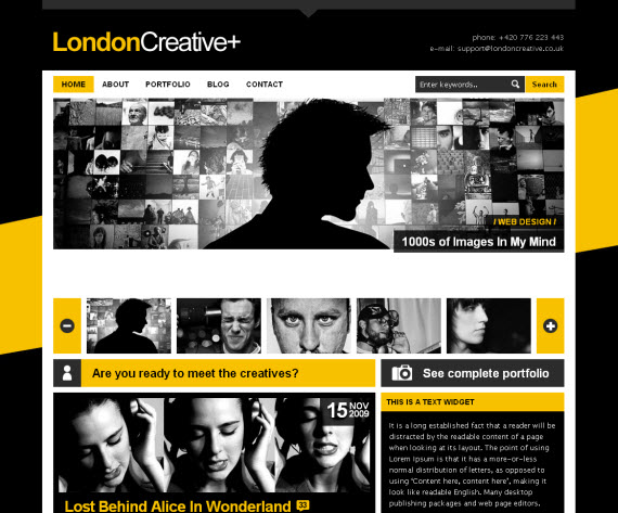 London-creative-commercial-wordpress-portfolio-showcase-theme