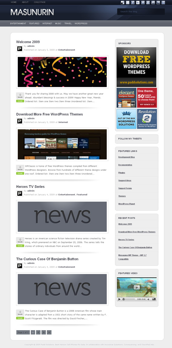 masunurin-magazine-free-wordpress-theme-for-download