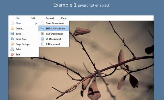 Memu-jquery-navigation-menu-plugins