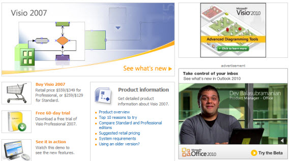 Microsoft-visio-premium-wireframing-webdesign-tools