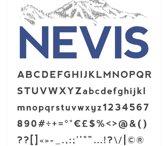 nevis-free-high-quality-font-web-design