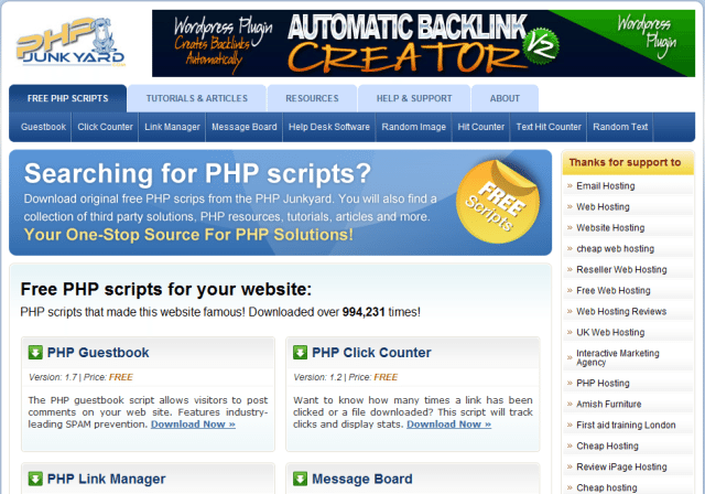 16 Hot Websites To Download Cool Scripts
