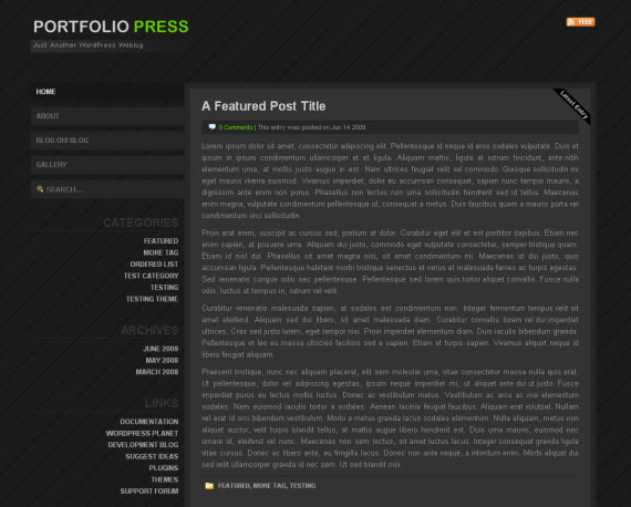 Portfolio-press-free-portfolio-wordpress-themes