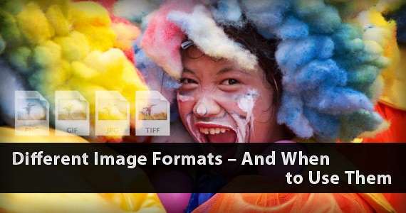Different Image Formats – And When to Use Them