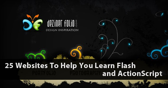 20+ Websites To Help You Learn Flash and ActionScript