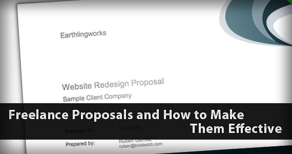 Freelance Proposals and How to Make Them Effective