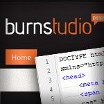 Convert Burnstudio from PSD to HTML [Very Detailed]