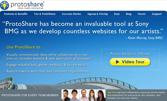 Protoshare-free-premium-wireframing-webdesign-tools