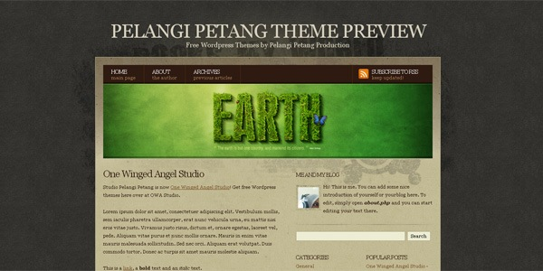 Rocks My World Free Premium Wordpress Theme