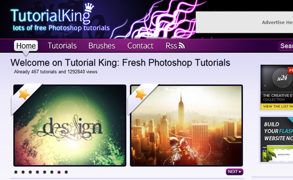 King-sites-submit-web-design-tutorials