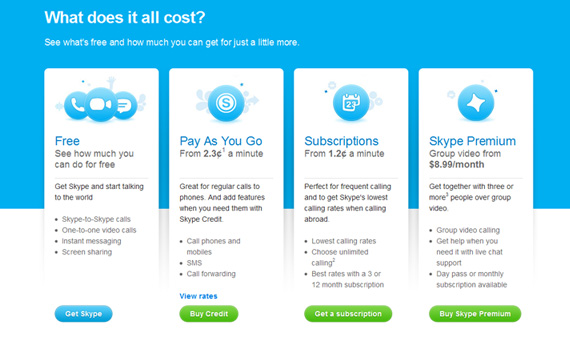 Skype-pricing-charts-best-examples-tips-inspiration