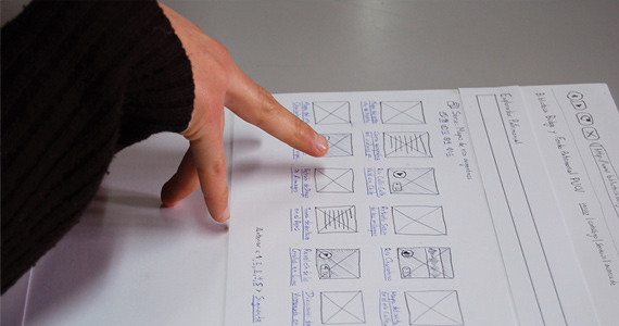 Wireframes and Structure