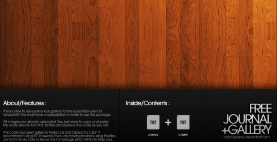 Wood_CSS_Pack-code